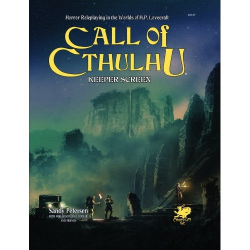 Call of Cthulhu - 7th Edition - Keeper's Screen - 401 Games