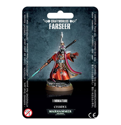 Buy Warhammer 40,000 - Craftworlds - Farseer and more Great Games Workshop Products at 401 Games