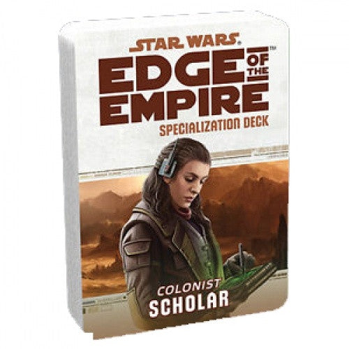 Star Wars: Edge of the Empire - Specialization Deck - Colonist Scholar available at 401 Games Canada