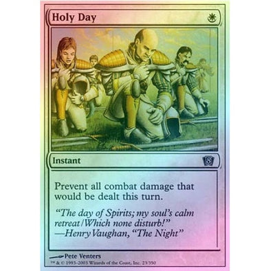 Holy Day (Foil) available at 401 Games Canada