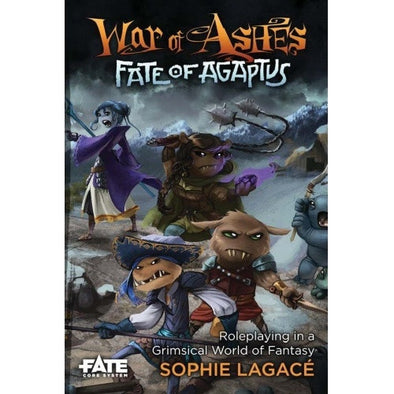 Buy War of Ashes: Fate of Agaptus - Core Rulebook and more Great RPG Products at 401 Games