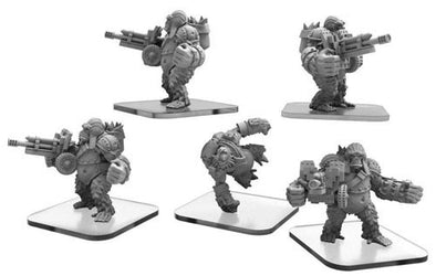 Monsterpocalypse Miniatures Game - Empire of the Apes - Ape Gunners & Ape Infiltrator