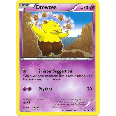 Buy Drowzee - 35/111 and more Great Pokemon Products at 401 Games