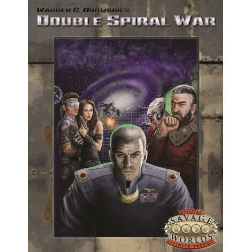 Savage Worlds - Double Spiral War available at 401 Games Canada