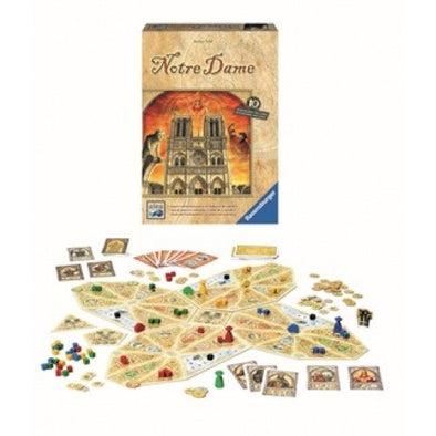 Buy Notre Dame (2017 Edition) and more Great Board Games Products at 401 Games
