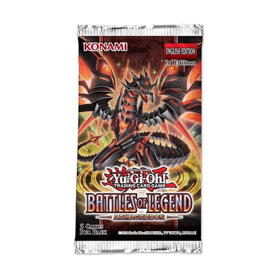 Yugioh - Battles of Legend: Armageddon 1st Edition Booster Pack available at 401 Games Canada