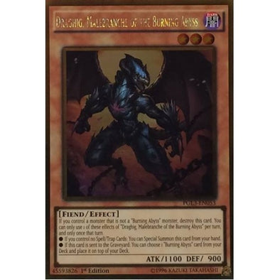 Draghig, Malebranche of the Burning Abyss - (Gold Rare) (PGL3) available at 401 Games Canada