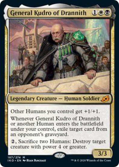 General Kudro of Drannith (IKO) (Pre-Order: 2020-05-15)