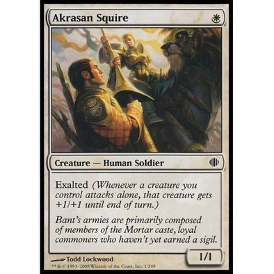 Akrasan Squire (ALA) available at 401 Games Canada