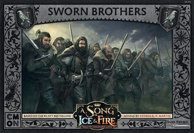 A Song of Ice and Fire - Tabletop Miniatures Game - Night's Watch - Sworn Brothers - 401 Games