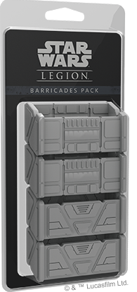 Buy Star Wars - Legion - Barricades Expansion and more Great Tabletop Wargames Products at 401 Games