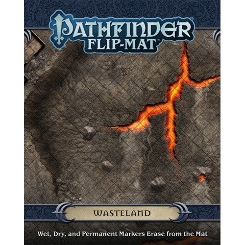 Pathfinder - Flip Mat - Wasteland available at 401 Games Canada