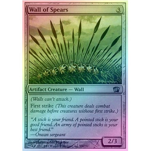 Wall of Spears (Foil) - 401 Games