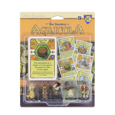 Agricola - Game Expansion - White - 401 Games