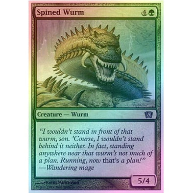 Spined Wurm (Foil) available at 401 Games Canada