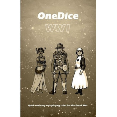 One Dice - WWI - Core Rulebook - 401 Games