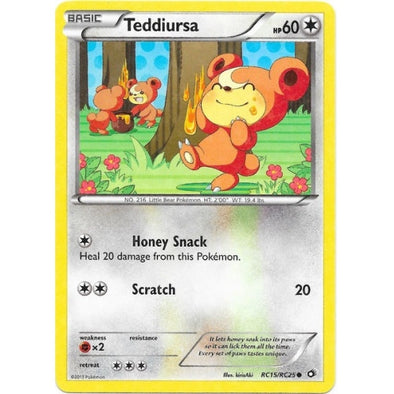 Buy Teddiursa - RC15/RC25 and more Great Pokemon Products at 401 Games