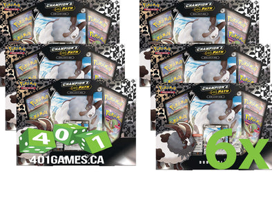 Pokemon - Champion's Path Dubwool V Collection - Case of 6 available at 401 Games Canada