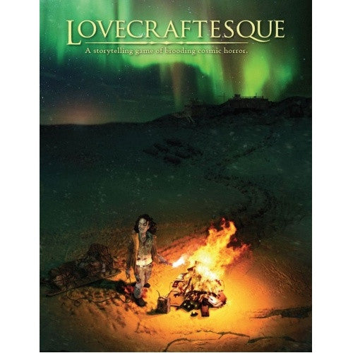 Lovecraftesque - Core Rulebook available at 401 Games Canada