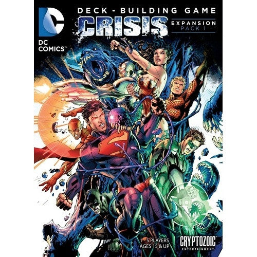 DC Comics Deck Building Game - Crisis Expansion 1 available at 401 Games Canada