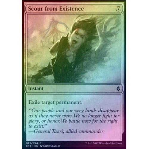 Scour from Existence (Foil) (BFZ) available at 401 Games Canada