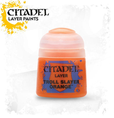 Buy Citadel Layer - Troll Slayer Orange and more Great Games Workshop Products at 401 Games