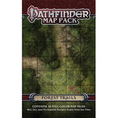 Pathfinder - Map Pack - Forest Trails - 401 Games