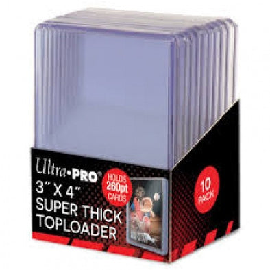 Buy Ultra Pro - Toploader 10ct - 260pt and more Great Sleeves & Supplies Products at 401 Games
