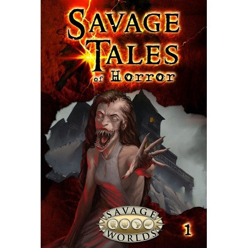 Savage Worlds - Tales of Horror - Volume 1 Hardcover - 401 Games