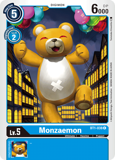 Monzaemon (BT1-038) available at 401 Games Canada