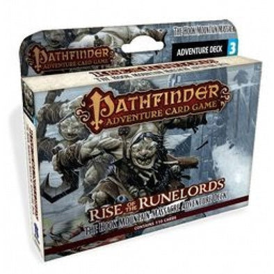 Buy Pathfinder Adventure Card Game - Rise of the Runelords - The Hook Mountain Massacre Adventure Deck and more Great Board Games Products at 401 Games