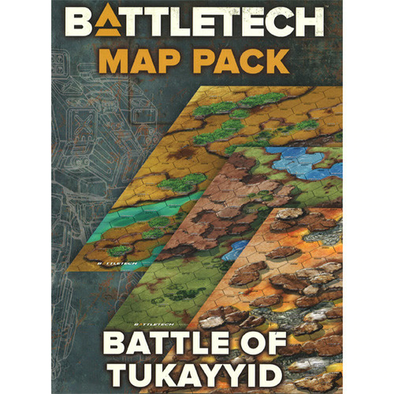Battletech - Map Pack - Battle of Tukayyid available at 401 Games Canada