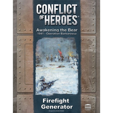 Conflict of Heroes - Awakening the Bear 1941 - Operation Barbarossa - Firefight Generator - 401 Games