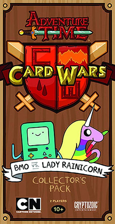 Buy Adventure Time Card Wars - BMO vs Lady Rainicorn and more Great Board Games Products at 401 Games