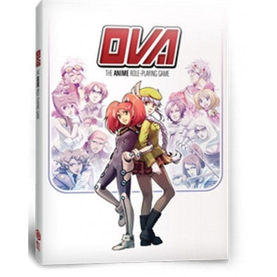 OVA: The Anime Role Playing Game - Core Rulebook - 401 Games
