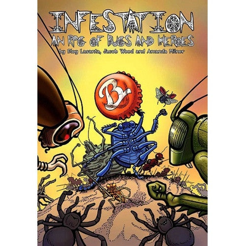 Infestation: An RPG of Bugs and Heroes - Core Rulebook - 401 Games
