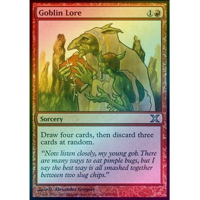 Goblin Lore (Foil) available at 401 Games Canada