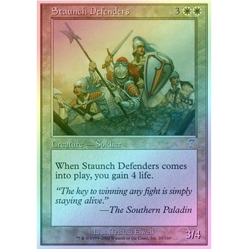 Staunch Defenders (Foil) available at 401 Games Canada