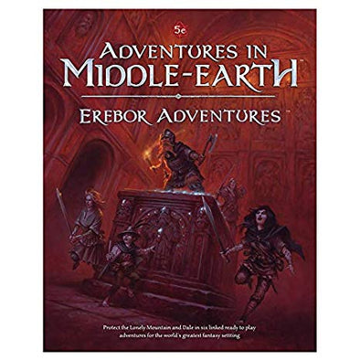 Dungeons and Dragons - 5th Edition - Adventures in Middle-Earth - Erebor Adventures - 401 Games