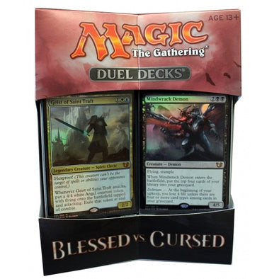 Buy MTG - Duel Deck - Blessed Vs. Cursed and more Great Magic: The Gathering Products at 401 Games