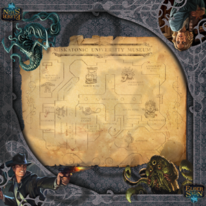 Buy Elder Sign - Museum Playmat and more Great Board Games Products at 401 Games