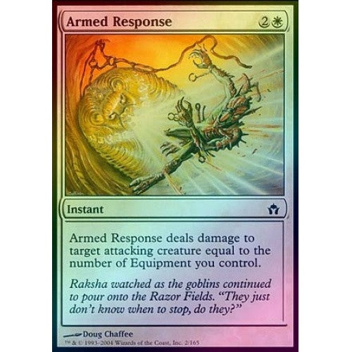 Armed Response (Foil) (5DN) - 401 Games
