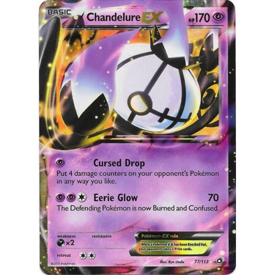 Buy Chandelure-EX - 77/113 and more Great Pokemon Products at 401 Games