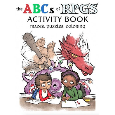 The ABCs of RPGs - Activity Book available at 401 Games Canada