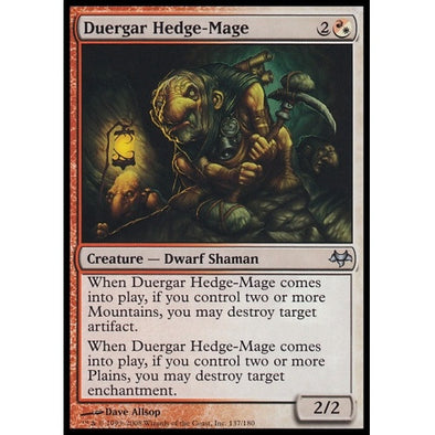 Duergar Hedge-Mage (EVE) - 401 Games