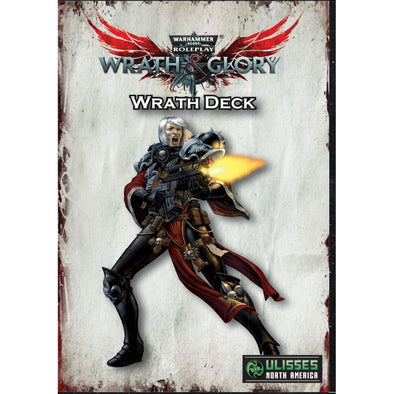 Buy Warhammer 40,000 Role Playing Game - Wrath & Glory - Wrath Deck and more Great RPG Products at 401 Games