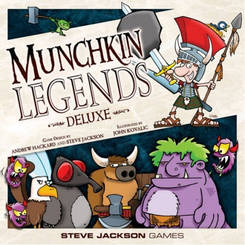 Munchkin - Legends Deluxe (2nd Edition)