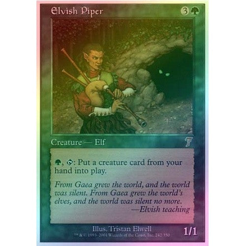 Elvish Piper (Foil) available at 401 Games Canada