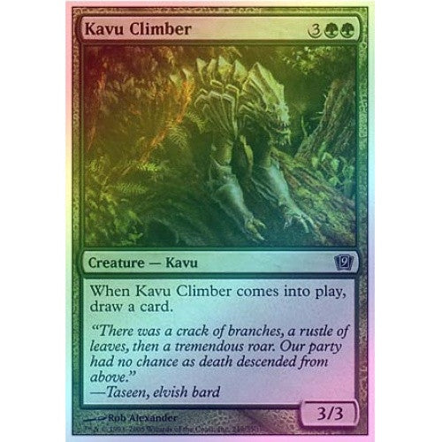 Kavu Climber (Foil) available at 401 Games Canada