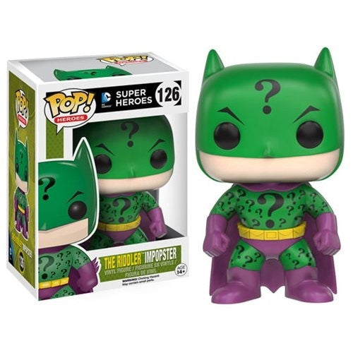 Buy Pop! DC Comics Superheroes - The Riddler Impopster (Batman/Riddler) and more Great Funko & POP! Products at 401 Games
